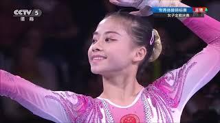 2019年斯圖加特世界體操錦標賽 唐茜靖奪得世錦賽個人全能銀牌