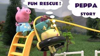 Peppa Pig Play Doh Story Mickey Mouse Clubhouse Pocoyo Свинка Пеппа Help Disney Playdoh Episode
