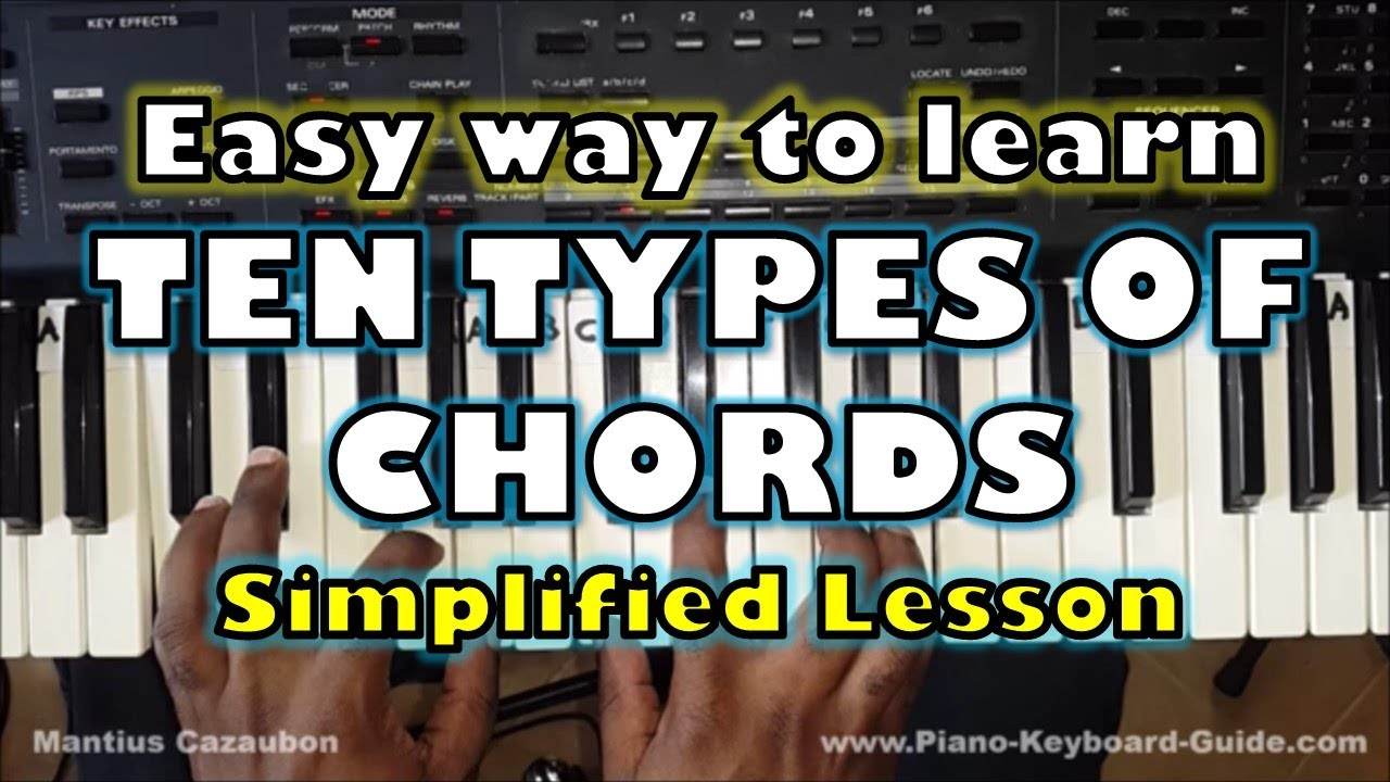 Ten types of piano chords that you should know and how to form ten types of piano chords that you should know and how to form them hexwebz Gallery
