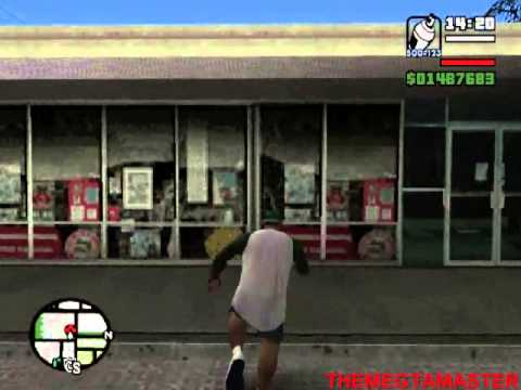 GTA San Andreas PS2 Pintando los 100 Graffitis - Parte 1/3