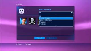 How to get free avatars [PS3/CFW]