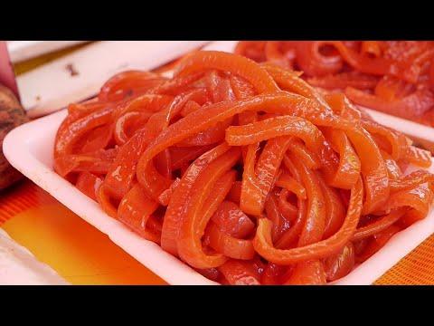 Boiled Pig Skin - Korean Street Food
