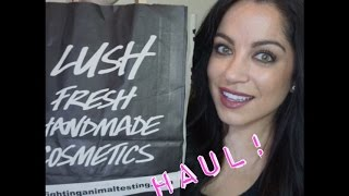 LUSH HAUL - Lush Cosmetics cruelty-free