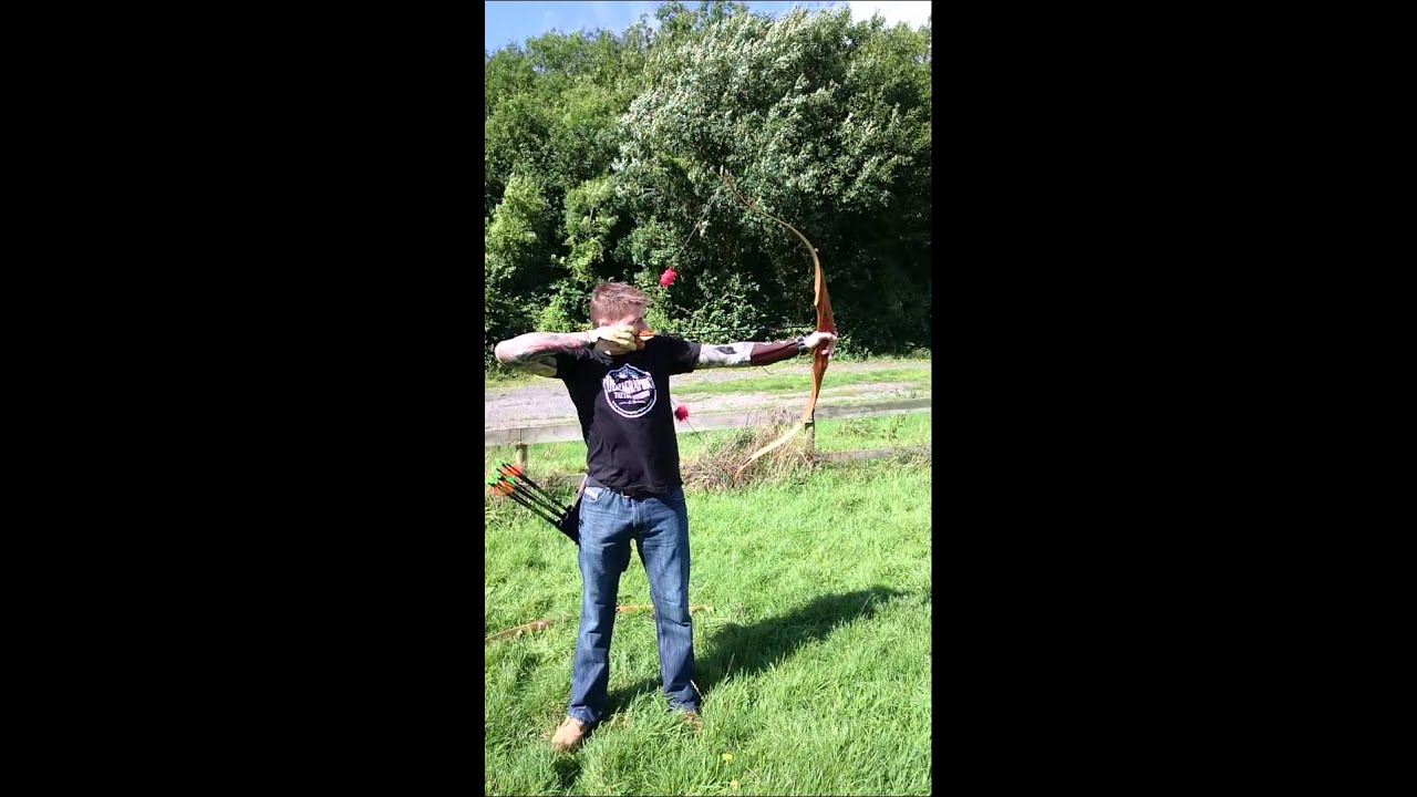 Martin Dreamcatcher Recurve Bow Slow Motion YouTube Adorable Martin Dream Catcher
