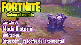 FORTNITE SAVE THE WORLD #30 VILLATABLON - THE TORMENT COFRE - GAMEPLAY IN ENGLISH