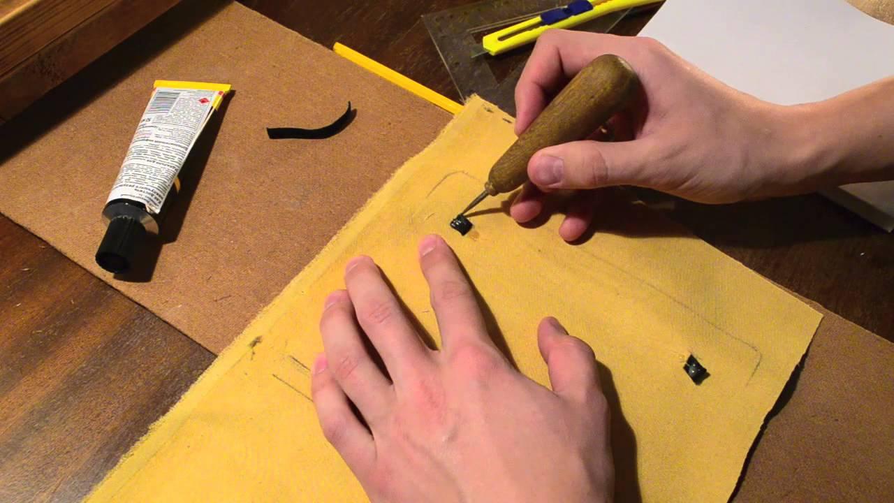 Блокнот на резинке своими руками