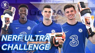 Christian Pulisic, Tammy Abraham & Mason Mount Take On The Nerf Ultra Challenge