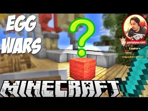 egg warsda tuhaf olay??  minecraft türkçe egg wars  bölüm 30