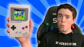 PLAYING FORTNITE ON A GAMEBOY??
