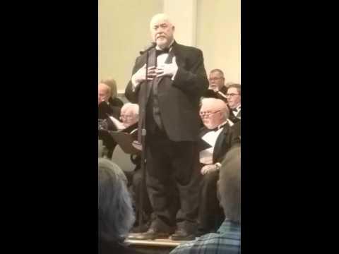 "David Scott Performing ""Bring Him Home""  with the Georgia Festival Chorus"