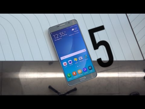 MKBHD: Samsung Galaxy Note 5 Impressions! (& GS6 Edge+)