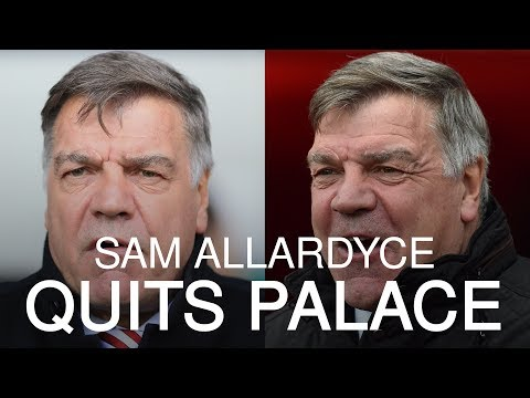 Sam Allardyce Leaves Crystal Palace After Five Months