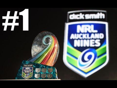 RLL4 Broncos vs Storm - Auckland Nines Round 1