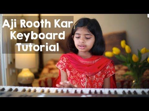 """""""Aji Rooth Kar"""" (Rag Des) Keyboard Tutorial Beginners #LearnWithDiva"""