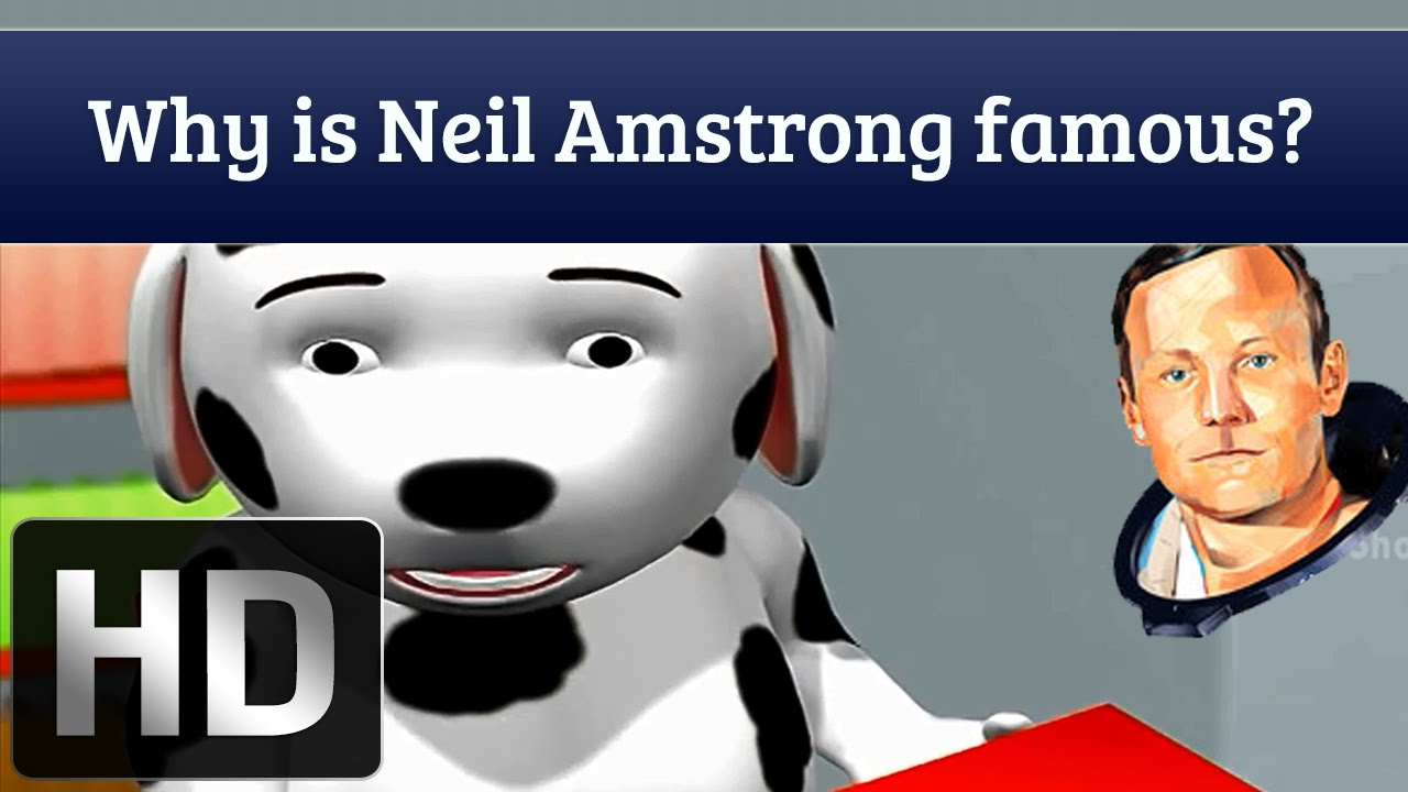 Why Is Neil Armstrong Famous? | First Man On Moon | Science Facts ...