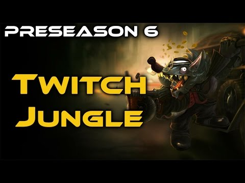 [LoL] Twitch Jungle - Full Game Commentary