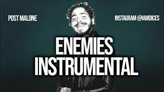 """Post Malone """"Enemies"""" ft,. Dababy Instrumental Prod. by Dices *FREE DL*"""