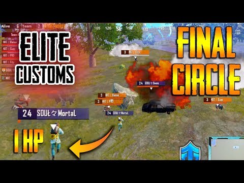 Elite customs final circle highlights🔥| NXT vs Soul (1HP clutch)