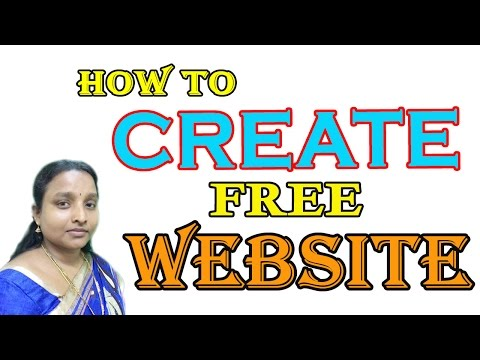 How to Create Free New Website Online in Tamil Latest 2017