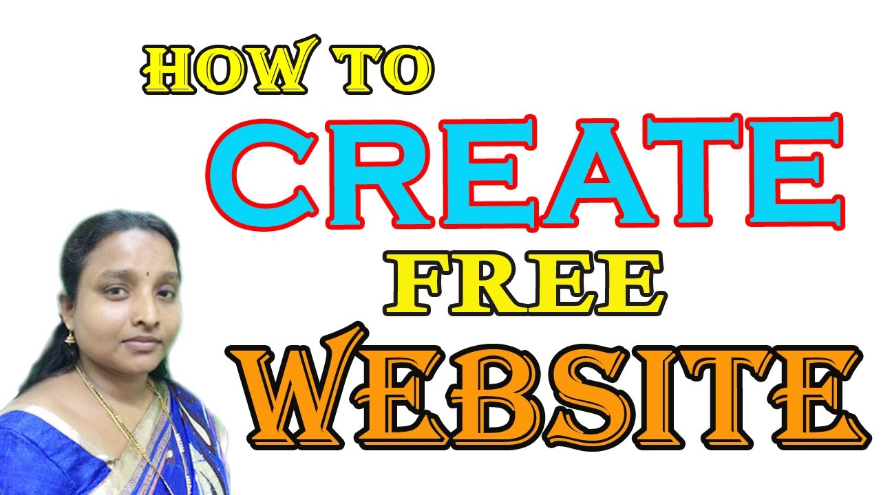 How to create free new website online in tamil latest 2017 New website create free online