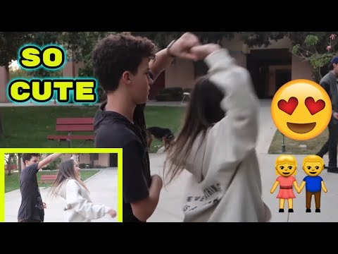 ANNIE AND HAYDEN DANCING TOGETHER ON SET | ANNIE'S MOM THINKS THEY ARE CUTE