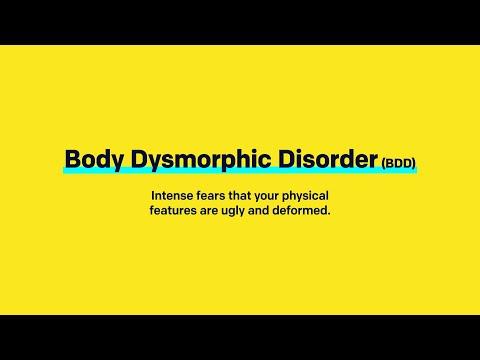 3 Indications of Body Dysmorphic Disorder