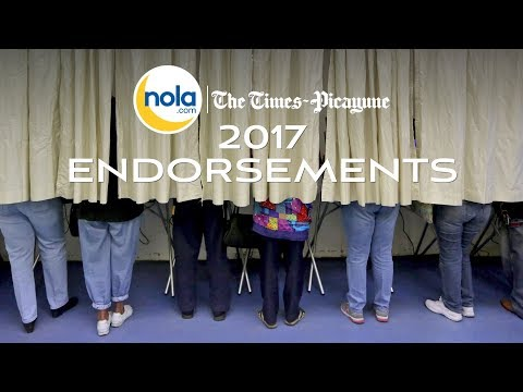 The Times-Picayune editorial board endorsements in the Oct. 14 election