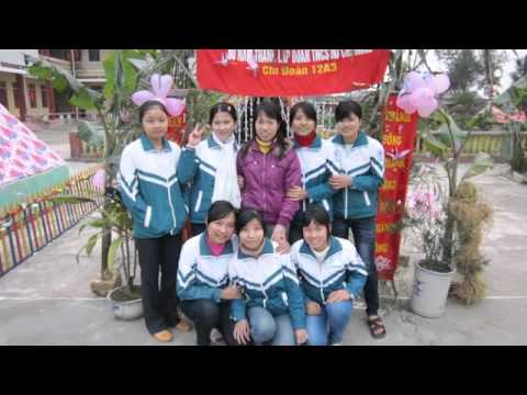 lop 12a3 truong THPT Nguyen Trai Nam Dinh