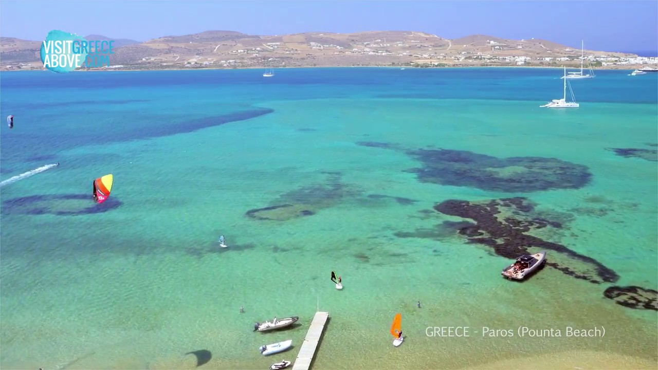 Greece Paros Pounta Beach