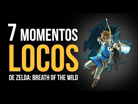Los 7 Momentos MÁS LOCOS De Zelda: Breath Of The Wild
