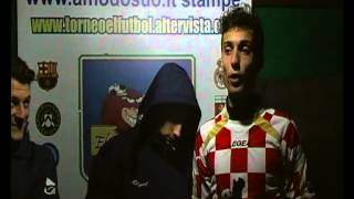 TORNEO EL FùTBOL intervista i migliori in campo di Udinese-Barca