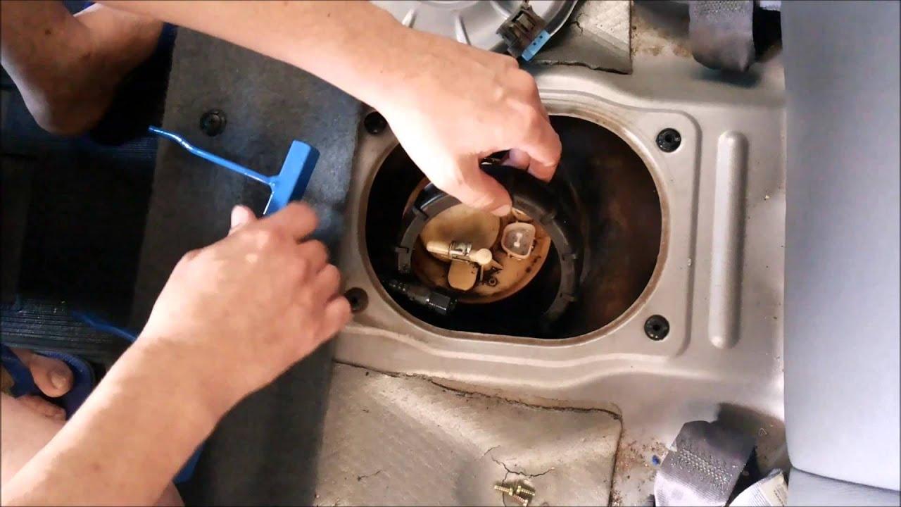 Honda Civic 2001 A 2005 Troca Do Filtro De Combust 237 Vel