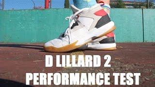 9afadbe01a0 Adidas D Lillard 2 Performance Test  Review - YouTube