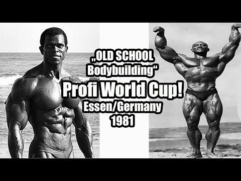 Old School Bodybuilding: 1981 Profi World Cup Essen/Germany