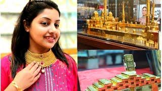 Dubai Gold Market  || Meena Bazaar || Gold Shopping Haul || Gold Price Comparison