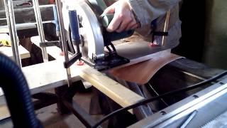 Раскрой листового алюминия (16мм)  циркулярной пилой(За один проход., 2013-11-11T09:42:44.000Z)