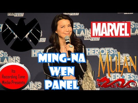 Heroes & Villains  Fest San Jose 2017: Ming Na Wen Panel