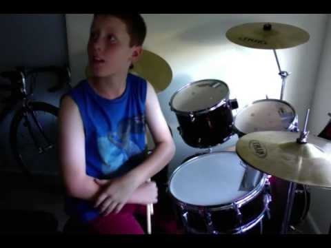 drum lesson with josh redmond (song nirvana heart shaped box ...