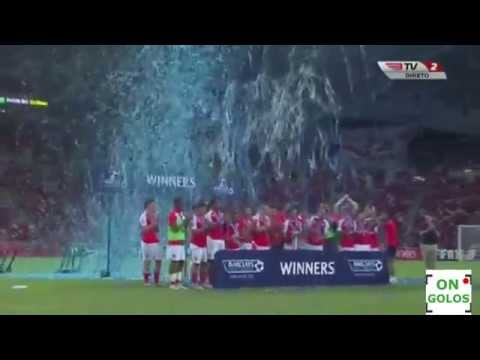 Arsenal wins Premier League Asia Trophy 2015