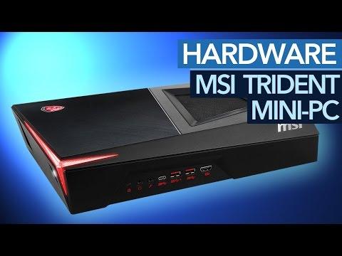 Mini-PC im Konsolenformat - MSI Trident mit Core i7 und GTX 1060 im Test
