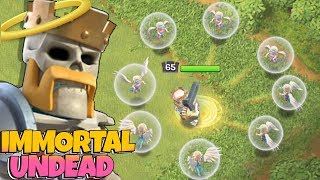 "YOU CAN'T KILL THE DEAD KING!! ""Clash Of Clans"" Immortal Dead king!"