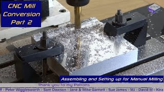 CNC Mill Conversion - Part 2 - Dev255