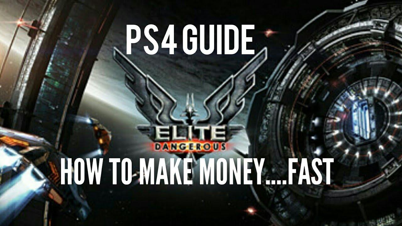 making money in elite dangerous
