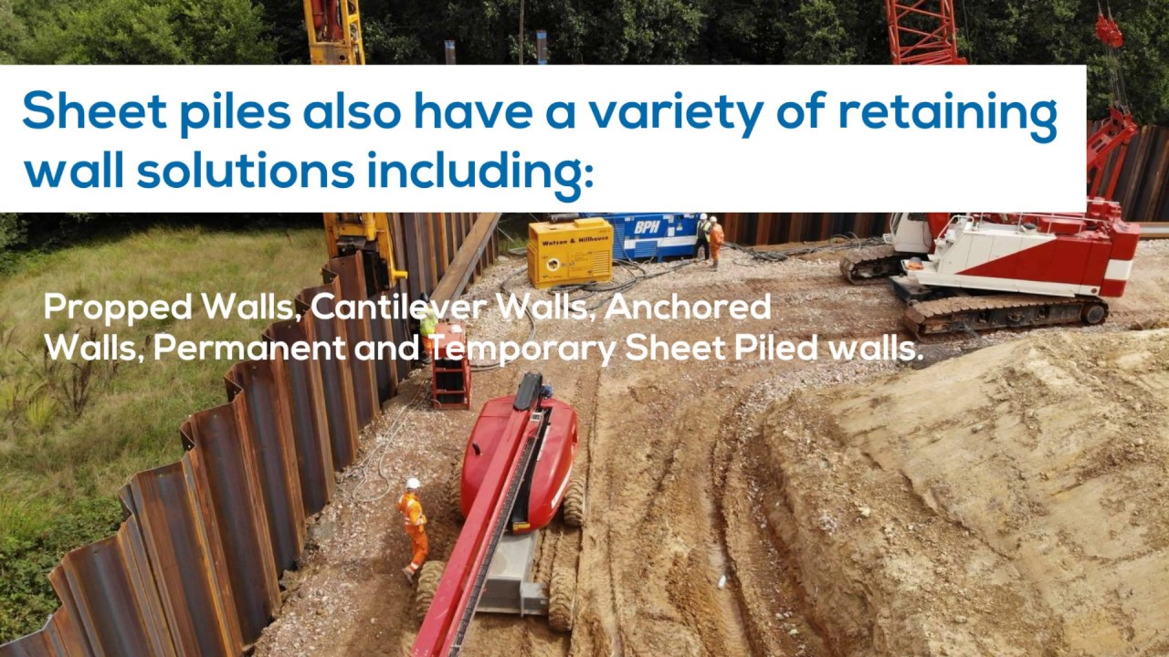 Top 10 Advantages Of Sheet Piling Aarsleff