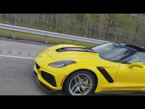 Corvette ZR&#;s  Spotted In Florida!