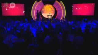 Asa Butterfield Presenting an Award at the Baftas