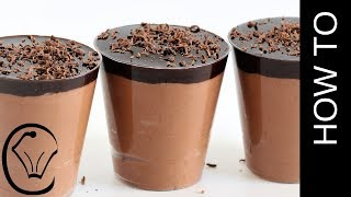 2 Ingredient Chocolate Mousse Eggless Gluten Free No Egg under 10 minutes