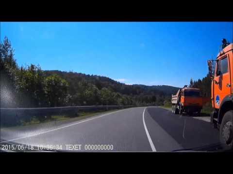 Как работает ДПС Башкирии (Автодорога Уфа - Белорецк)