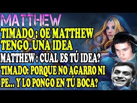 MATTHEW Y TIMADO JUGANDO JUNTOS EN LOW MODO THE INTERNATIONAL   DOTA 2 COSAS thumbnail