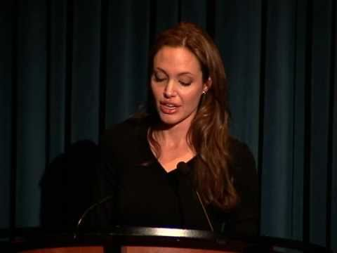 Angelina Jolie Speaks Out on World Refugee Day